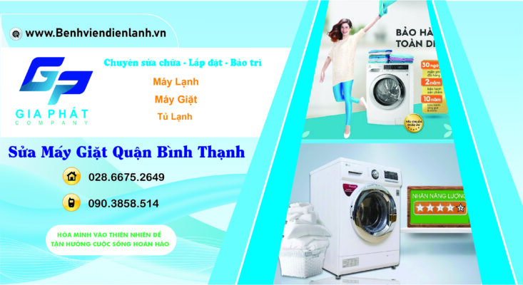 Dịch Vụ Vệ Sinh Máy Giặt Tại Bình Thạnh